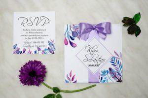 unikatowe zaproszenie na ślub